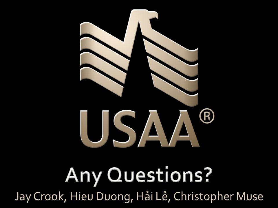 Jay Crook, Hieu Duong, Hải Lê, Christopher Muse