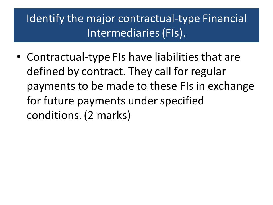 Which of the following is considered a depository financial institution.