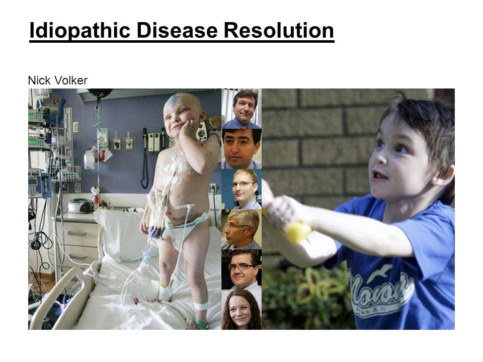 Dimmock Mayer Jacob Margolis Verbsky Worthey Idiopathic Disease Resolution Nick Volker