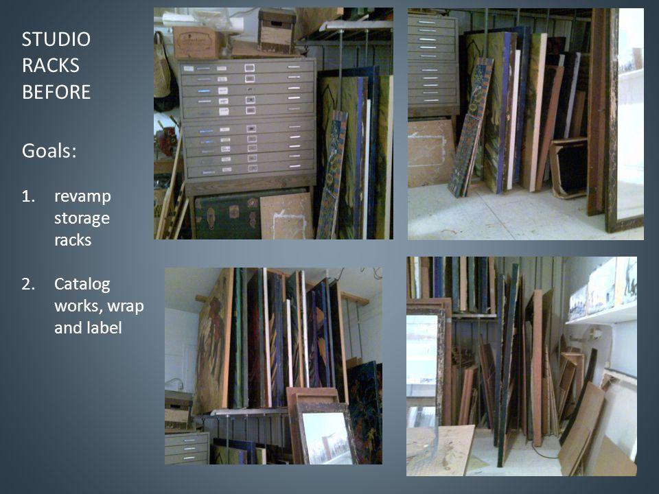 Records in home and studio Desk in studioFiles in studio