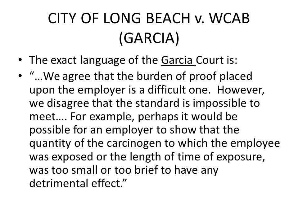 CITY OF LONG BEACH v.