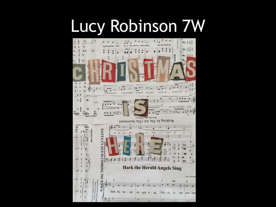 Lucy Robinson 7W