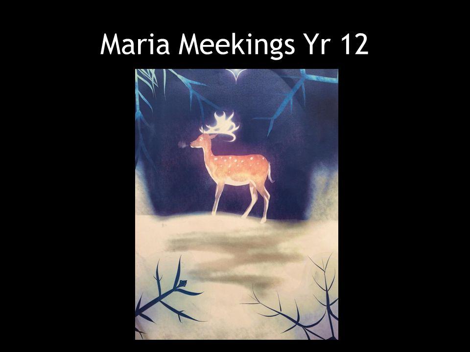 Maria Meekings Yr 12