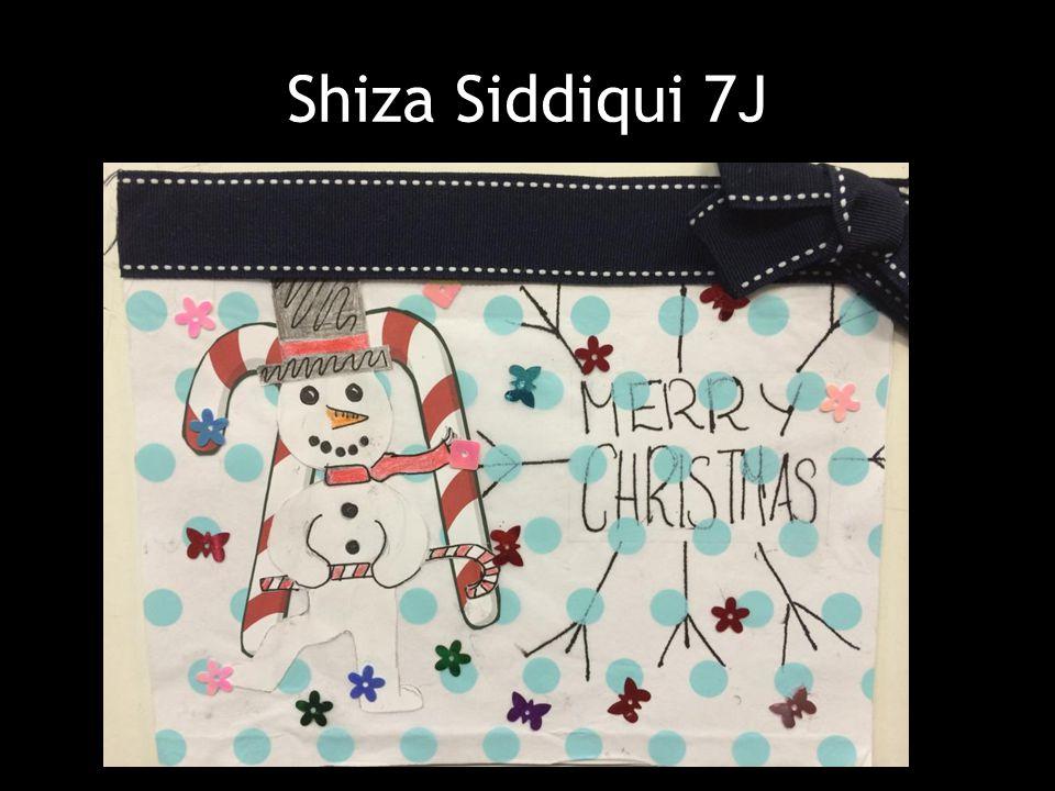 Shiza Siddiqui 7J