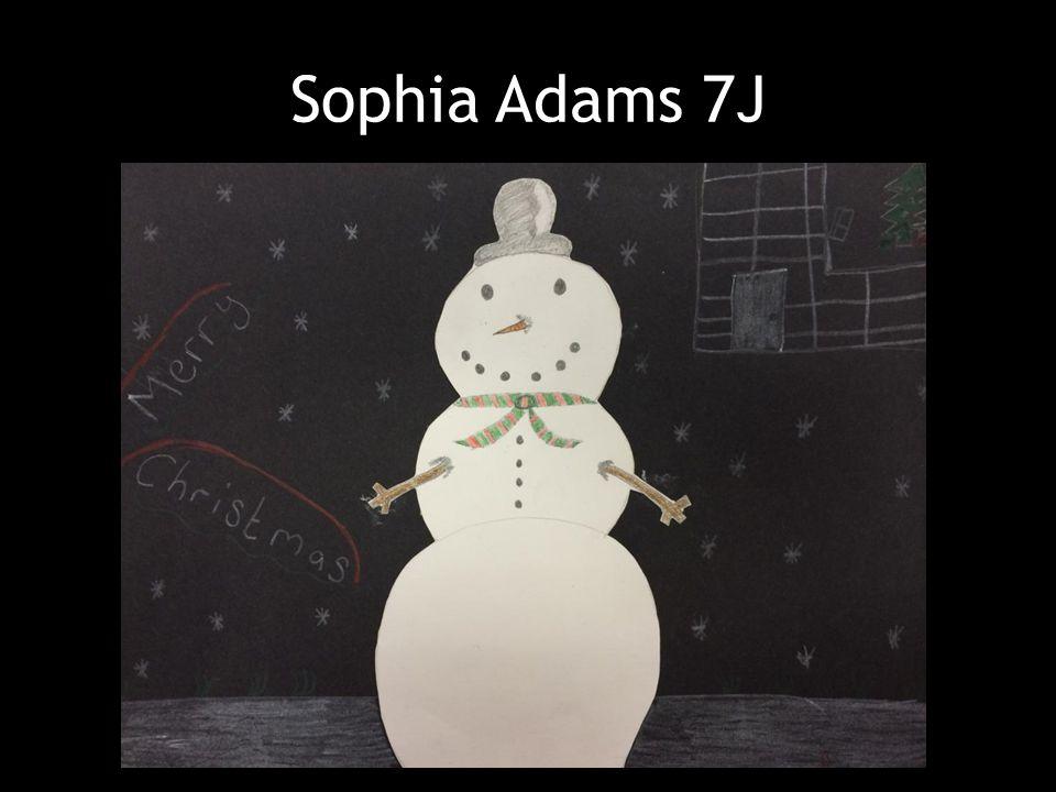 Sophia Adams 7J