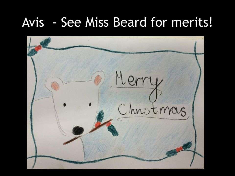 Avis - See Miss Beard for merits!