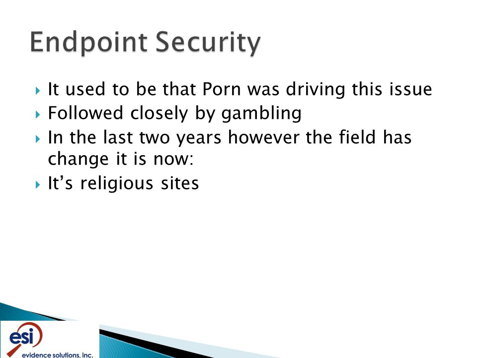  It used to be that Porn was driving this issue  Followed closely by gambling  In the last two years however the field has change it is now:  It's religious sites