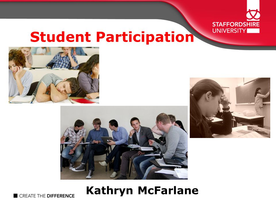Student Participation Kathryn McFarlane