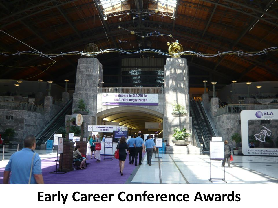 16 Early Career Conference Awards