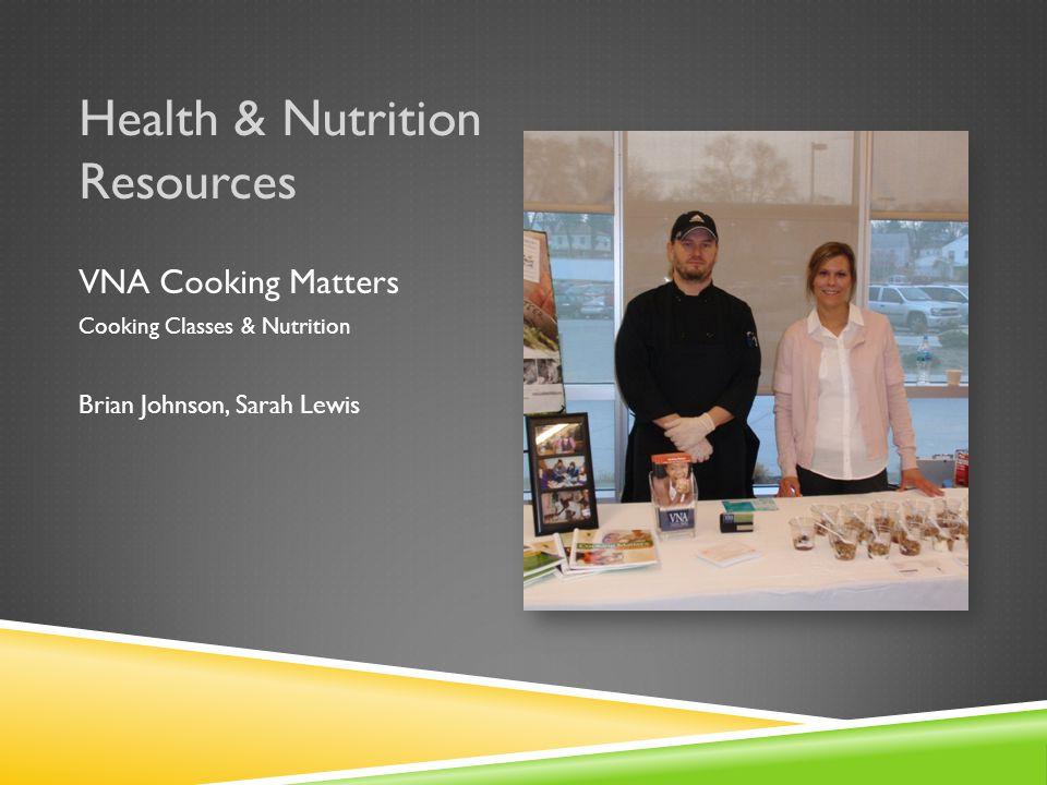 Health & Nutrition Resources UNL Extension, Nutrition Education Program Nutrition Education Carrie Schneider-Miller