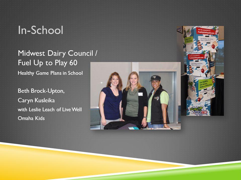 In-School OPS – Kellom Elementary Pilot Program Host – Grab 'n Go Breakfast Eric Nelson