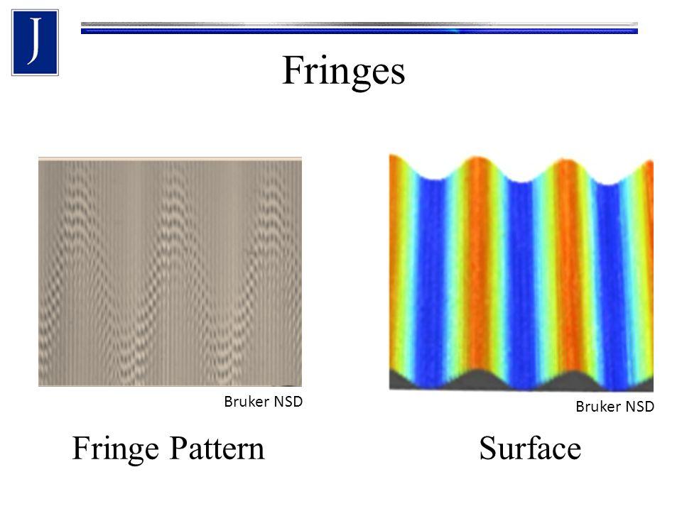 Fringes Bruker NSD Fringe PatternSurface