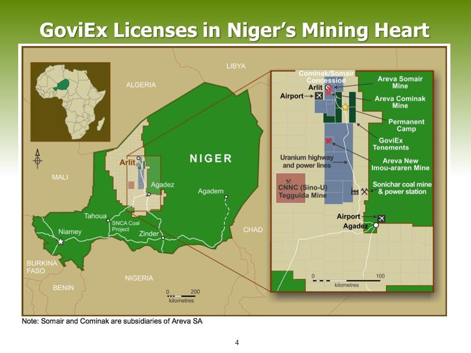 GoviEx Licenses in Niger's Mining Heart 4