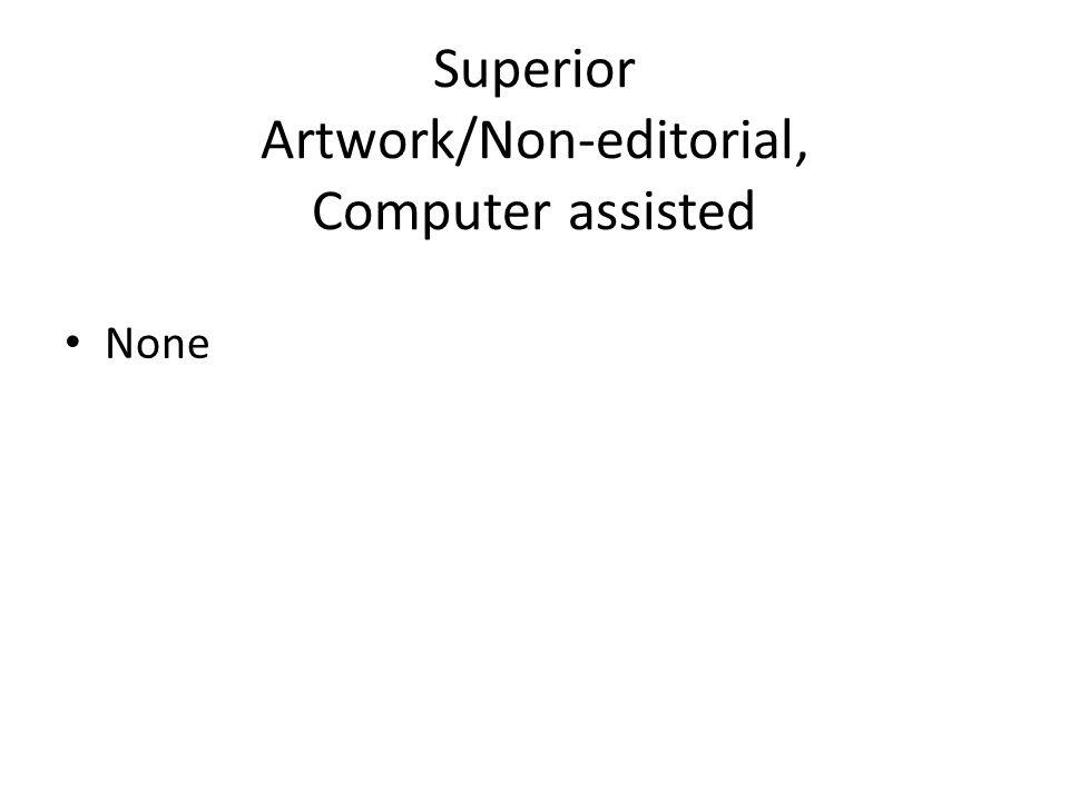 Superior Artwork/Non-editorial, Computer assisted None