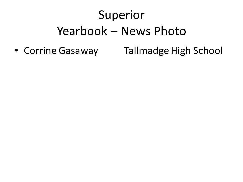 Superior Yearbook – News Photo Corrine GasawayTallmadge High School