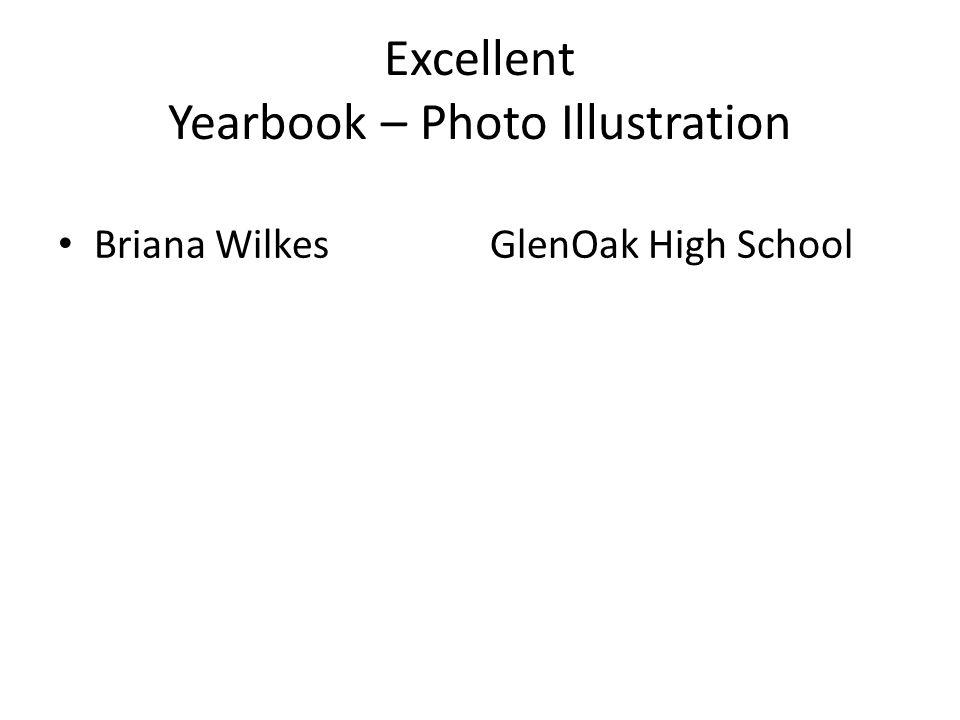 Excellent Yearbook – Photo Illustration Briana WilkesGlenOak High School
