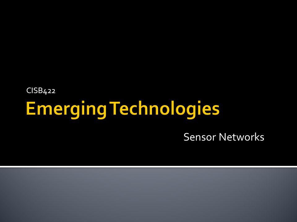 CISB422 Sensor Networks