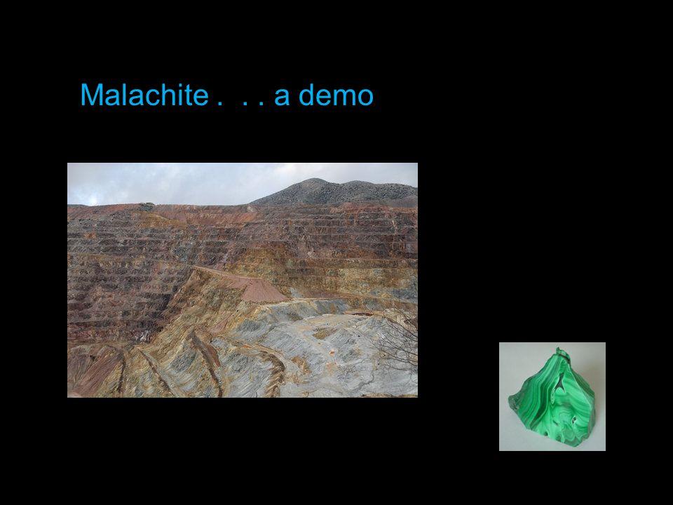 Malachite... a demo