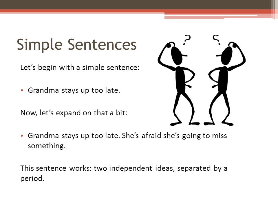 Comma Splices and Coordinating Conjunctions What if we try to combine the two ideas.