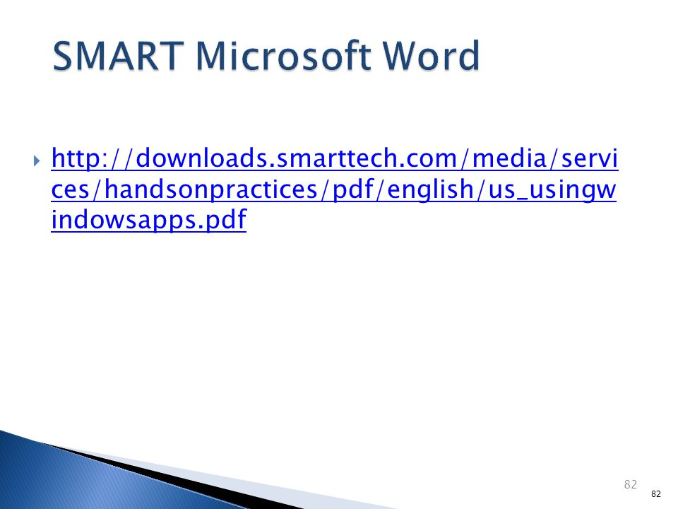  http://exchange.smarttech.com/searc h.html m=01 http://exchange.smarttech.com/searc h.html m=01  Finds lesson plans for your SMART board and provides access to teachers.
