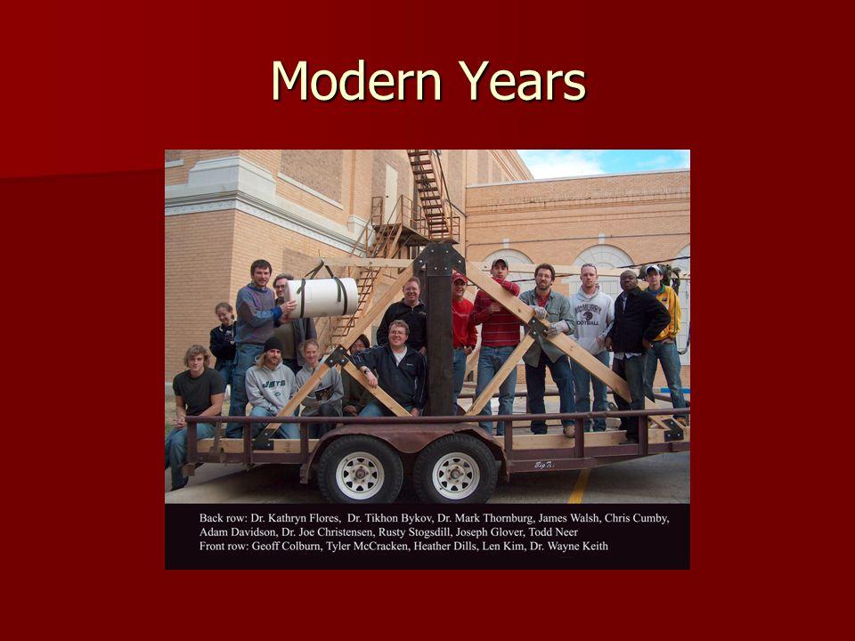 Modern Years