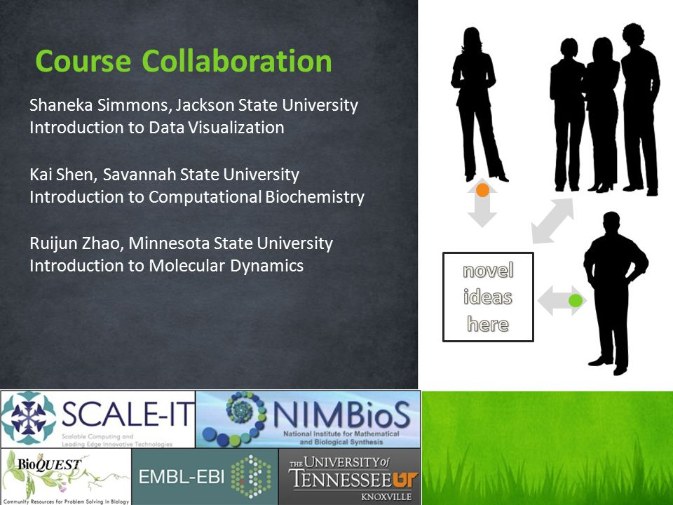 Shaneka Simmons, Jackson State University Introduction to Data Visualization Kai Shen, Savannah State University Introduction to Computational Biochem