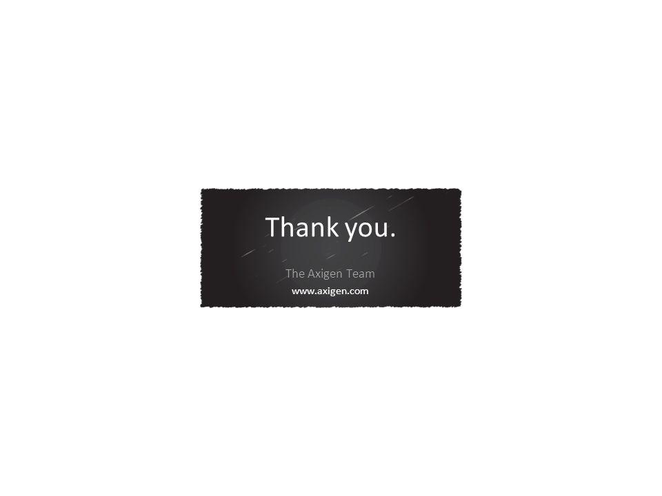 Thank you. The Axigen Team www.axigen.com