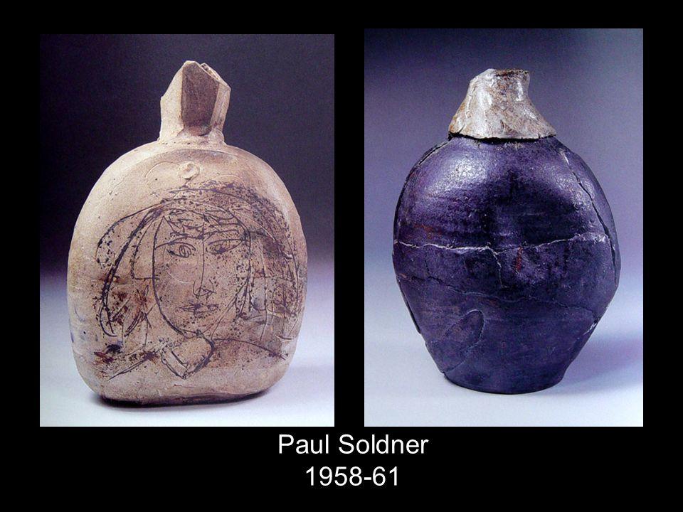 Paul Soldner 1958-61