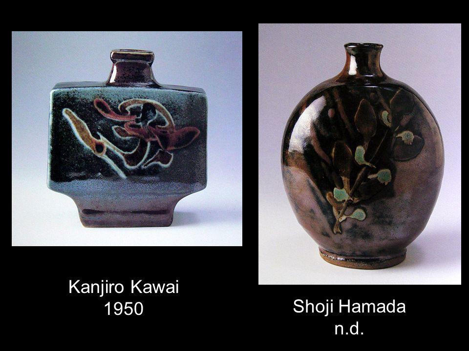 Kanjiro Kawai 1950 Shoji Hamada n.d.