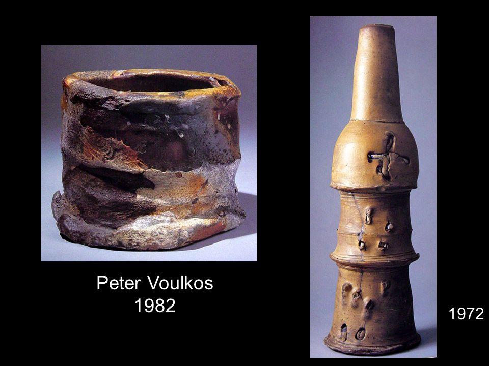 Peter Voulkos 1982 1972