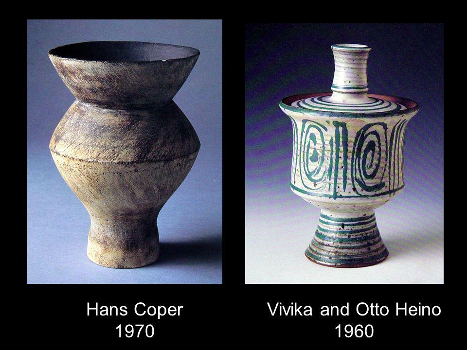 Hans Coper 1970 Vivika and Otto Heino 1960
