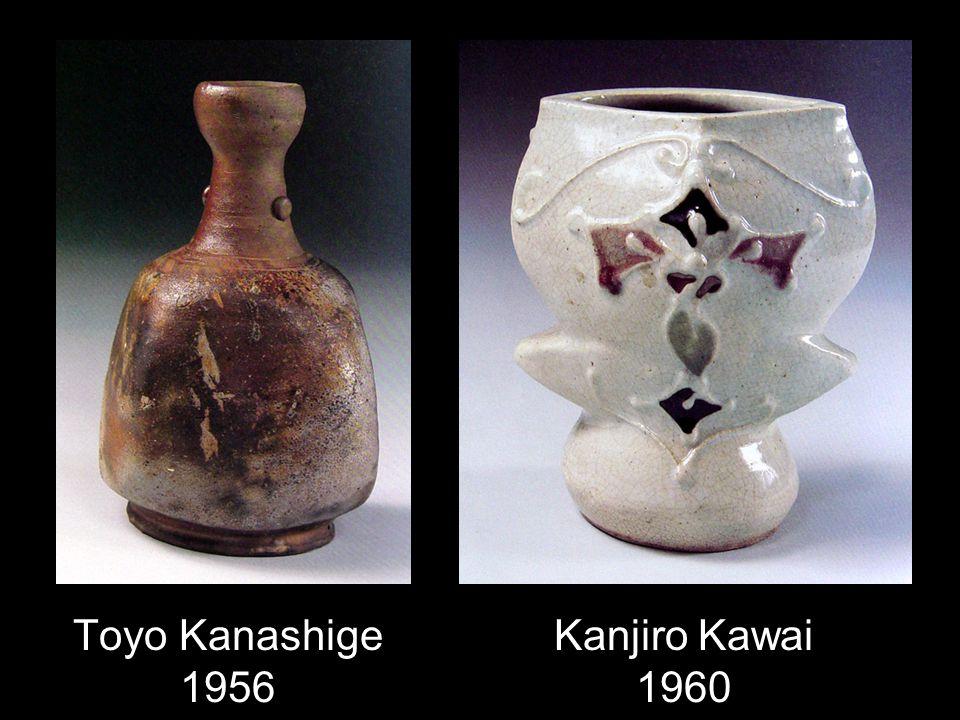 Toyo Kanashige 1956 Kanjiro Kawai 1960