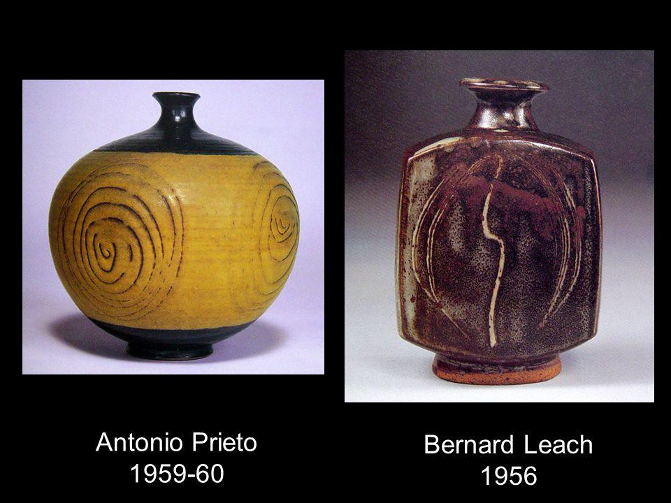 Antonio Prieto 1959-60 Bernard Leach 1956
