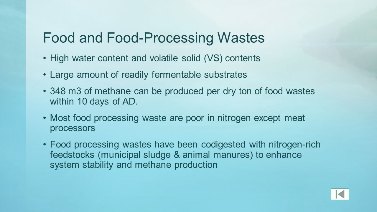 The Organic Fraction of Municipal Solid Wastes (OFMSW)