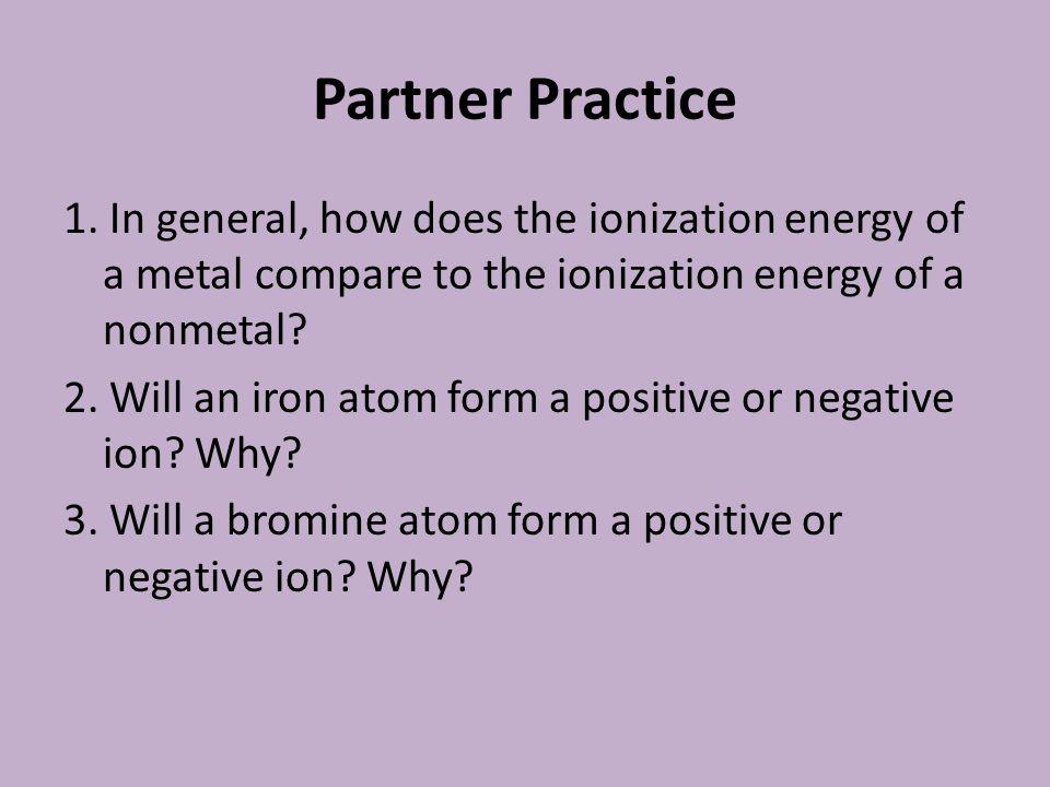 Partner Practice 1.