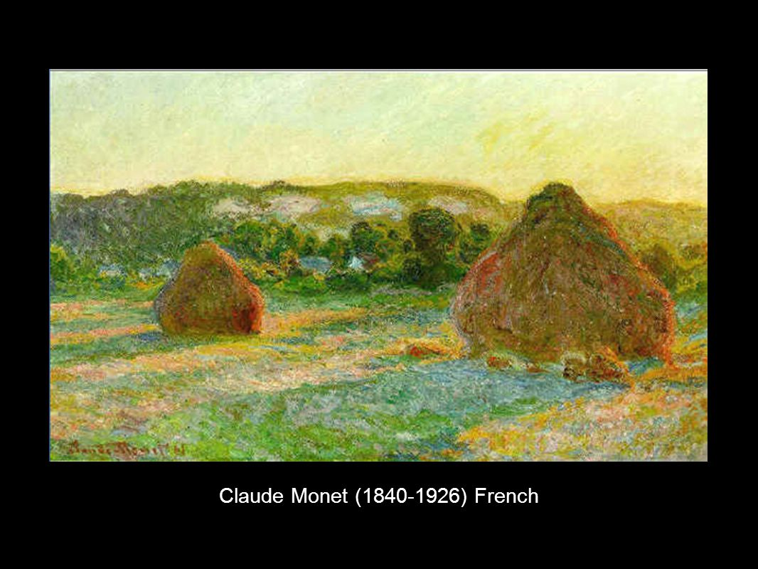 Claude Monet (1840-1926) French