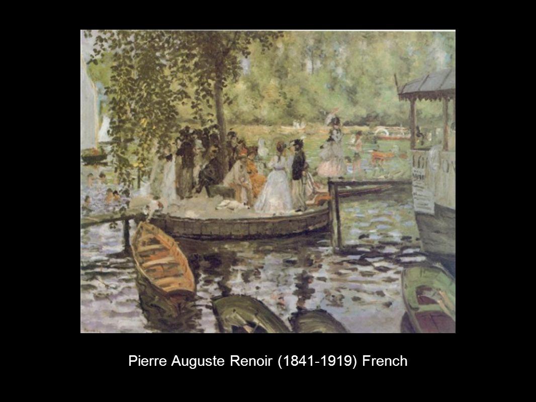 Pierre Auguste Renoir (1841-1919) French