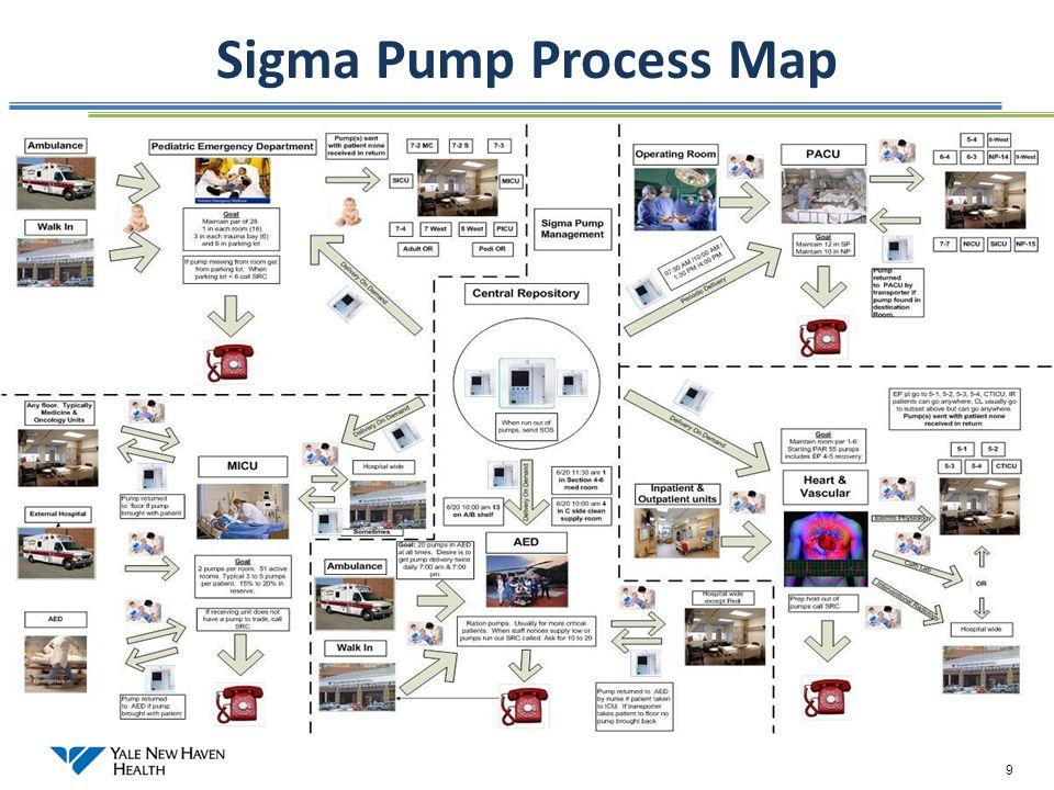 9 Sigma Pump Process Map