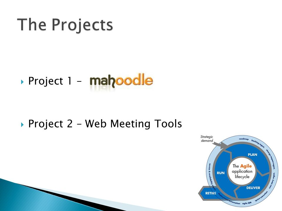  Project 1 –  Project 2 – Web Meeting Tools