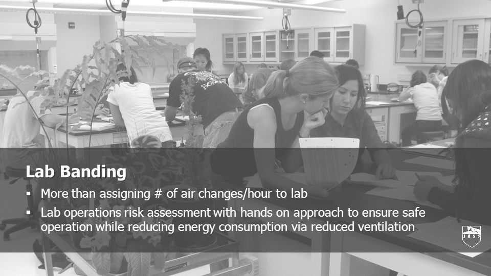 Lab Banding Lab Banding Background A system using professional judgment to qualitatively assess the risk of chemical hazards in laboratories and assign safety control.
