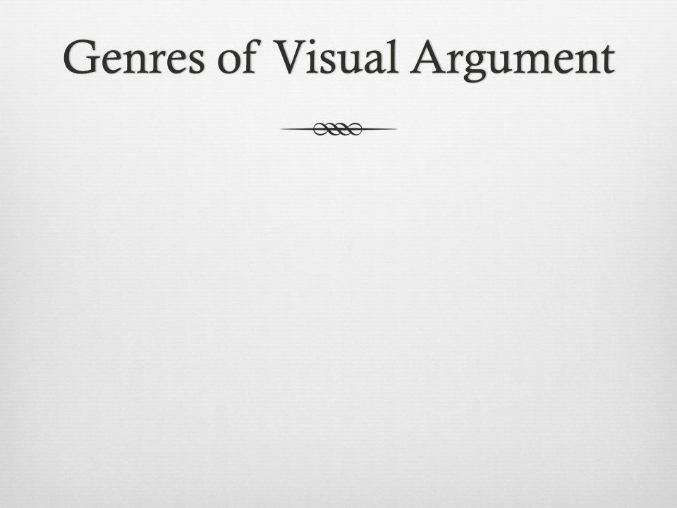 Genres of Visual ArgumentGenres of Visual Argument