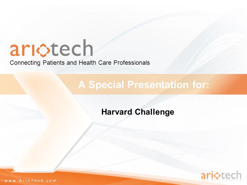 www.ArioTech.com What ArioTech does.