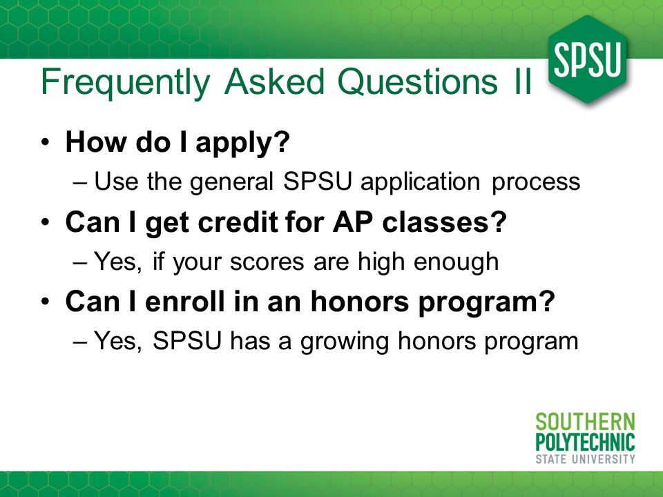 Frequently Asked Questions II How do I apply.