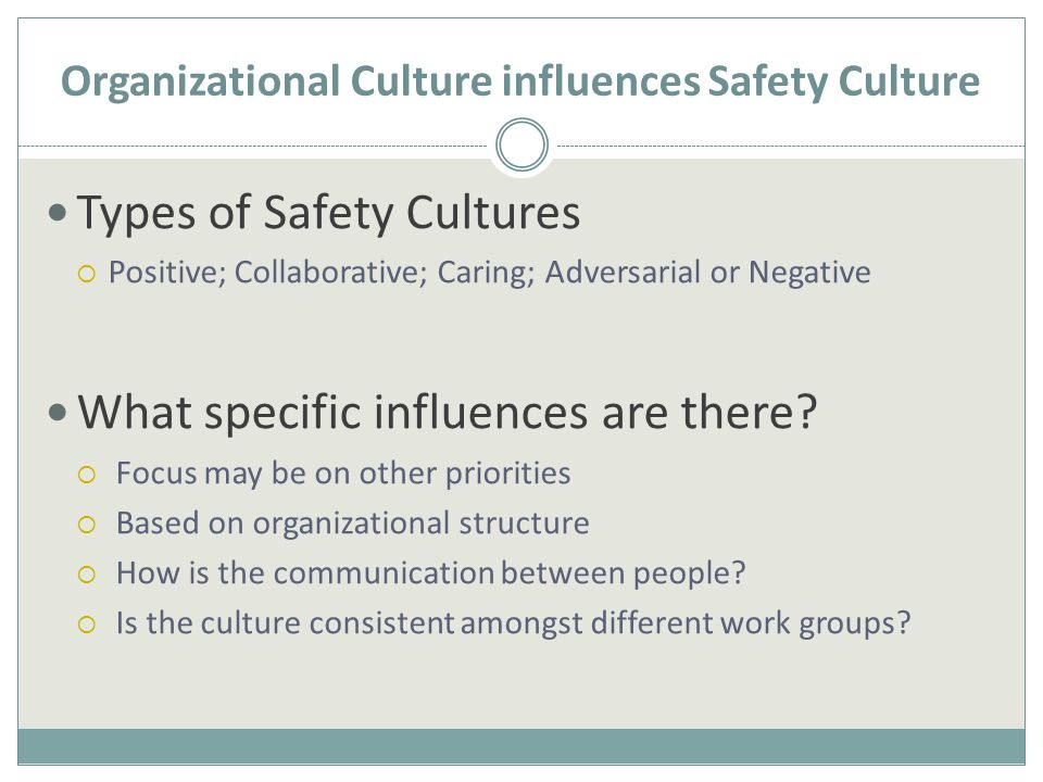 What's the Culture Like in Your Organization.