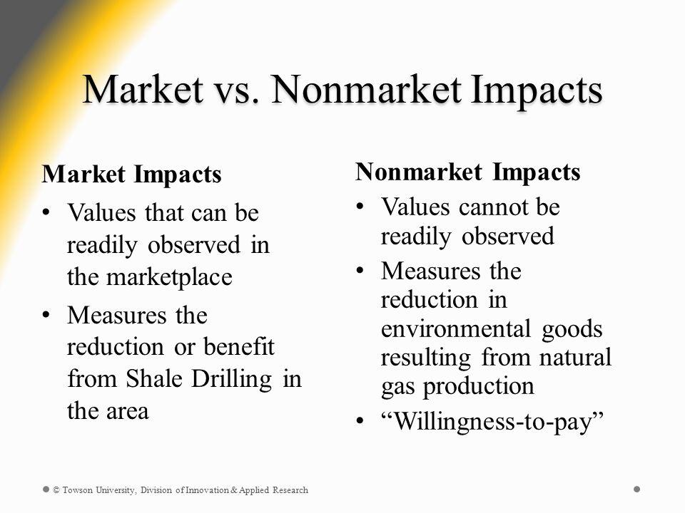 Market vs.