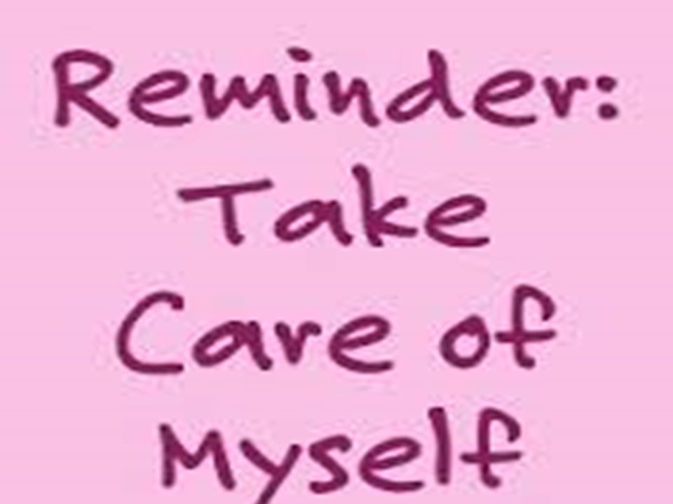 Supervision & Self-Care How do you take care of yourself? Schedule self-care into your calendar