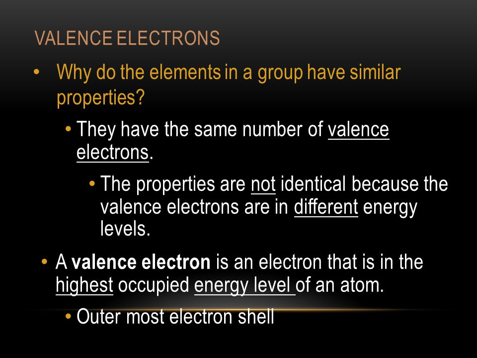 They have the same number of valence electrons.