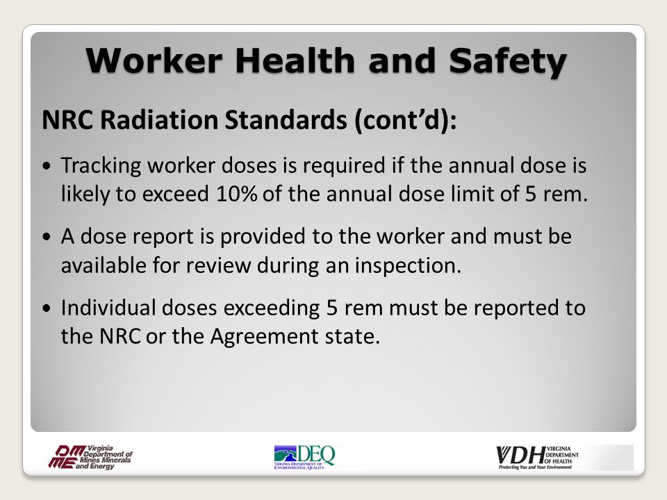 MSHA Airborne Contaminant Standards: Require that exposure to any contaminant not exceed established threshold limit values for chemical substances.
