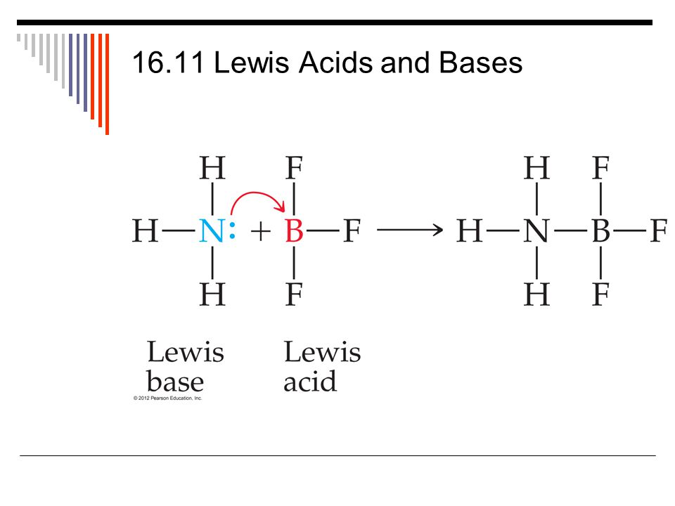 16.11 Lewis Acids and Bases