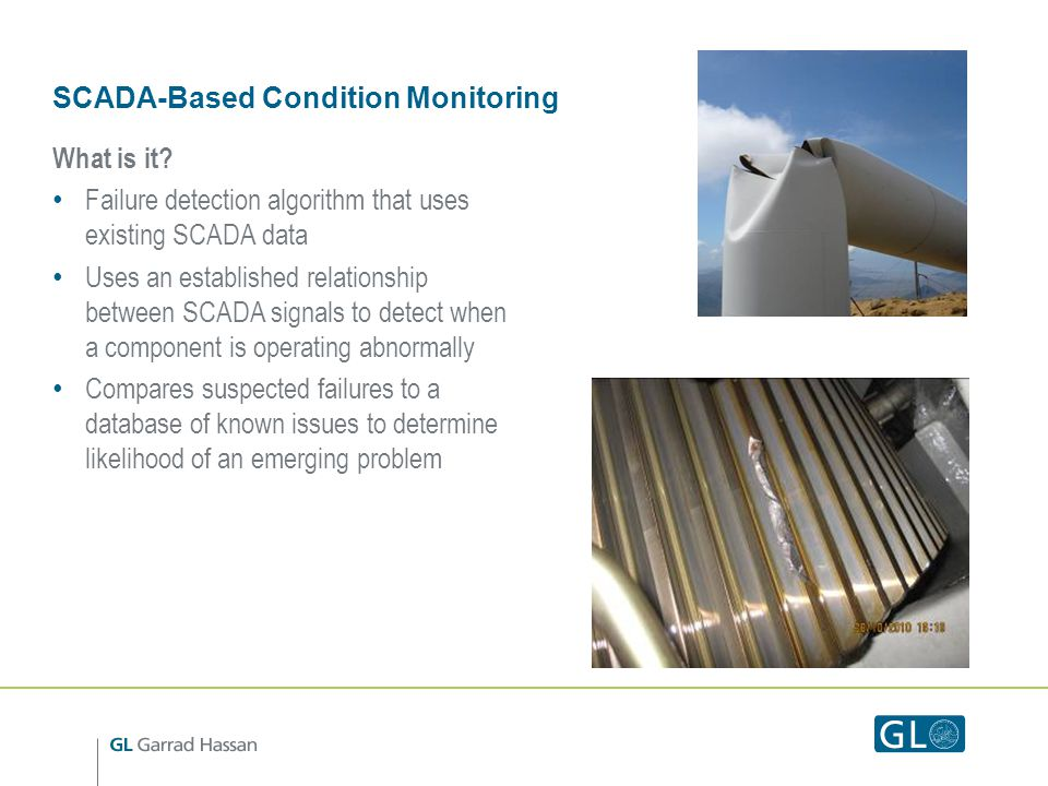 SCADA-Based Condition Monitoring What is it.